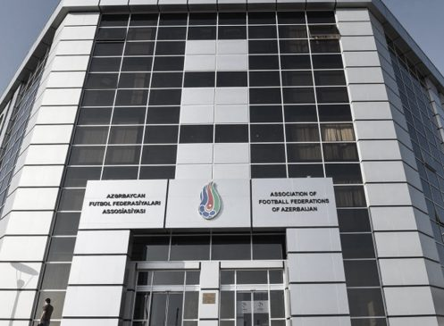 AZERBAIJAN FOOTBALL FEDERATION CENTRAL BUILDING